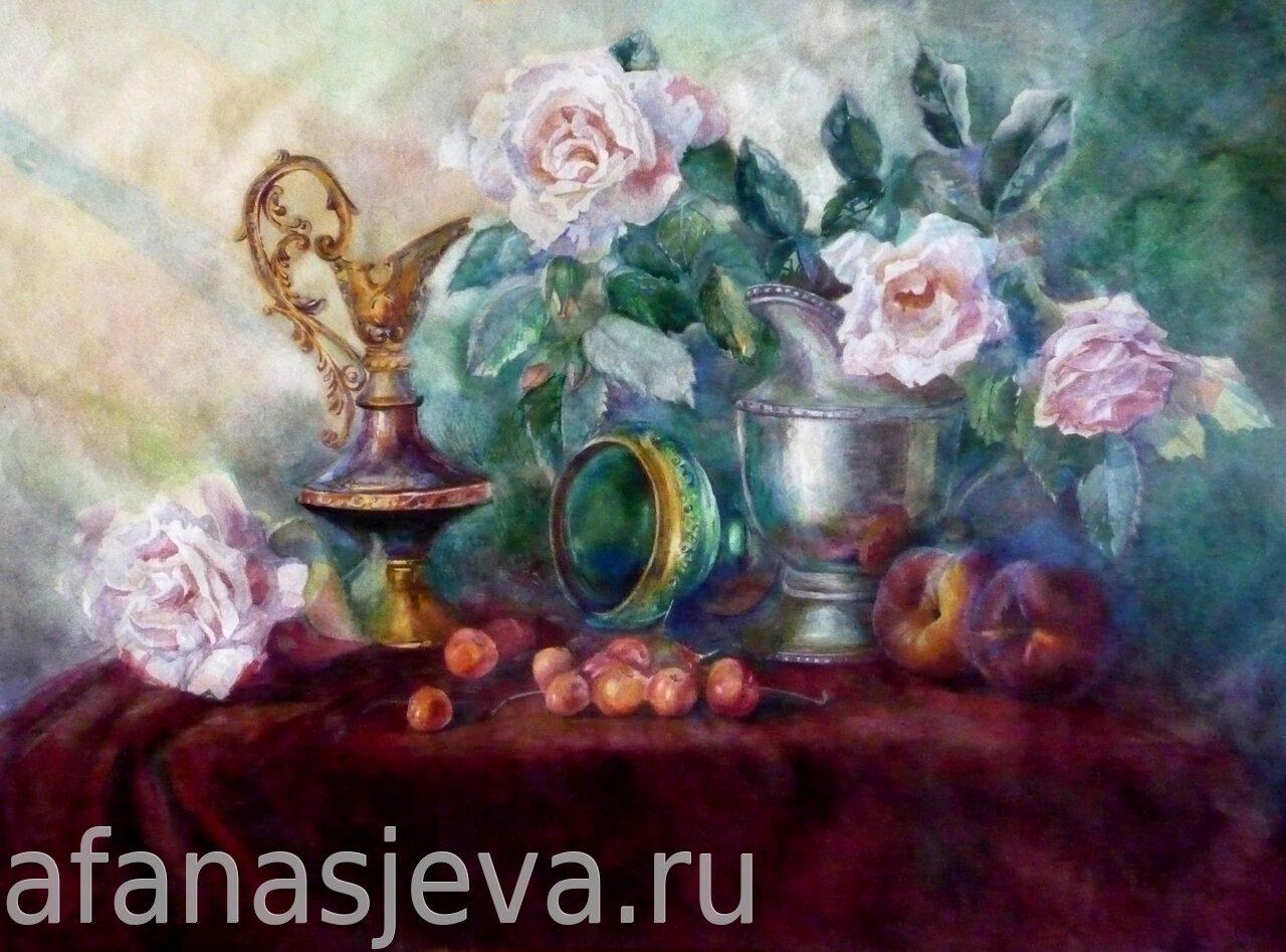 школа живописи анастасии афанасьевой: